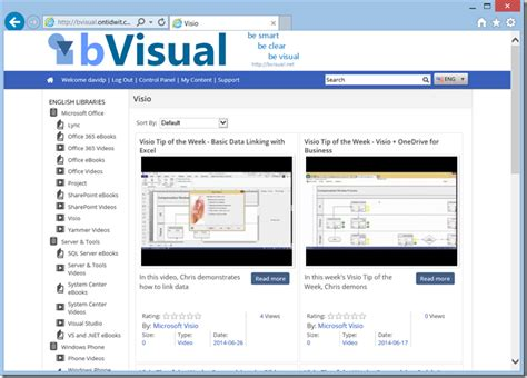 learning visio social learning about visio made easy bvisual for