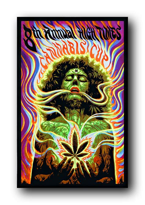 blacklight posters trippy psychedelic glow in the