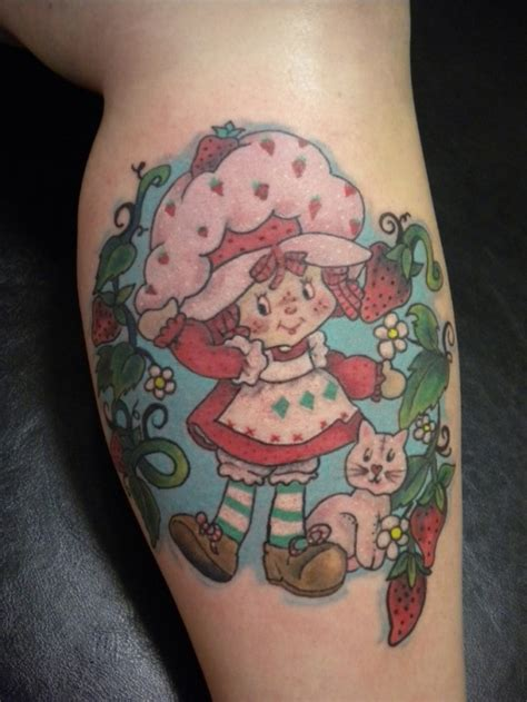 strawberry shortcake tattoo 1000 images about 80 s tattoos on my