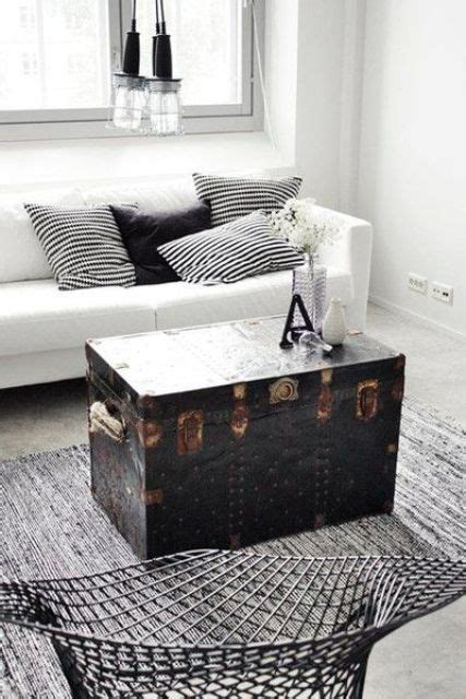 living room trunk 28 ways to use vintage chests and trunks in home decor