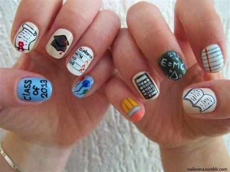 School Nail Designs