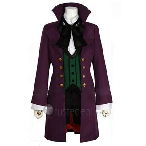 Anime Costumes by Black Butler 2 Alois Trancy Purple Costume