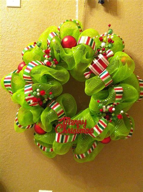 Charming Christmas Deco Mesh Wreath #4: 1d5030accbe920cdf09e53e8d1a7144f--christmas-wreaths-merry-christmas.jpg