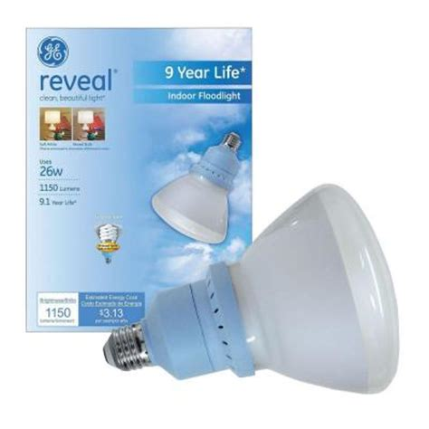 Ge Reveal Led Light Bulbs Ge Reveal 100w Equivalent Daylight E26 E39 Non Dimmable Led Replacement Light Bulb