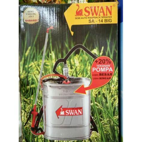 Sprayer Tangki Semprot Swan 17l tangki semprot merk swan manual 14 liter stainless sa 14