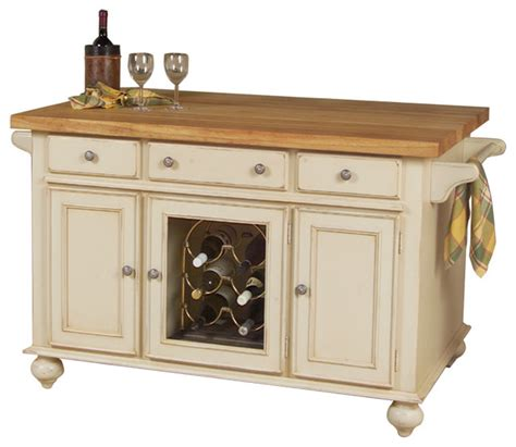 houzz com kitchen islands kaco a la carte 54 quot kitchen island traditional kitchen