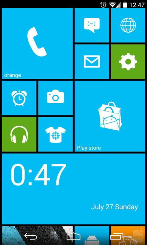 Android Like Windows Phone by How To Make Android Look Like Windows Phone 8
