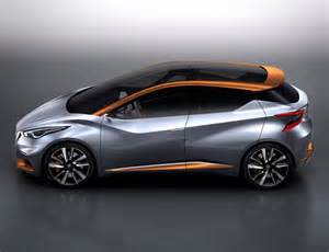 nissan new concept car nissan sway compact hatchback concept for european market