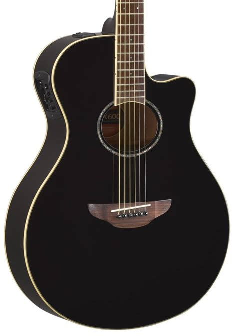 Yamaha Apx600 yamaha apx600 acoustic electric guitar black