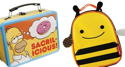 Skip Hop Zoo Lunchies Bee 2 best reusable lunch bags and boxes san diego reader