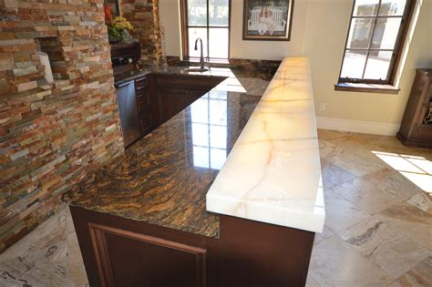 How Thick Are Countertops by Image Gallery Mitered Edge