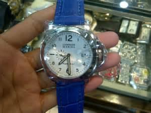 Jam Tangan Wanita Vintage Brown Blue T1310 6 solid blue aghashe