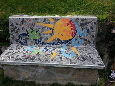 panchina parco panchina sole parco mosaici di blevio lago di como