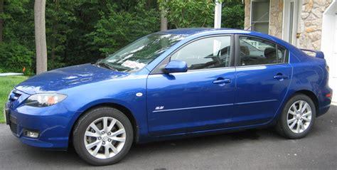 mazda 3 forsale for sale 2007 mazda3 s sport blue sedan spoiler