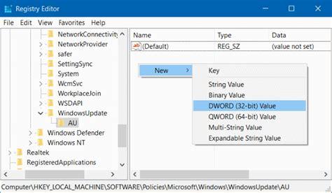 Obeng Otomatis 10 Bits 1 mematikan windows update otomatis di windows 10 via registry