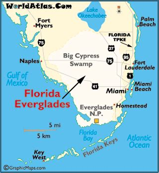 everglades map my