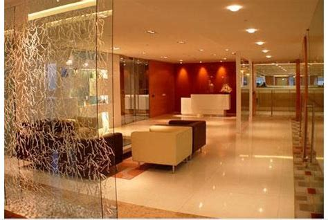 glass partition design glass partition living roomgharexpert wall interior design