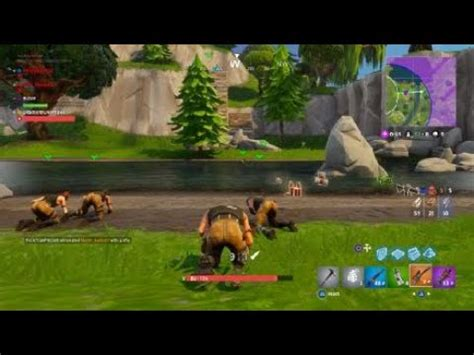 whole fortnite team getting knocked down 50v50 youtube