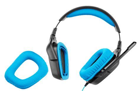 Headset Logitech G430 logitech g430 7 1 surround sound gaming headset review