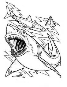 Then You Excited When Coloring Happy Shark Pages sketch template