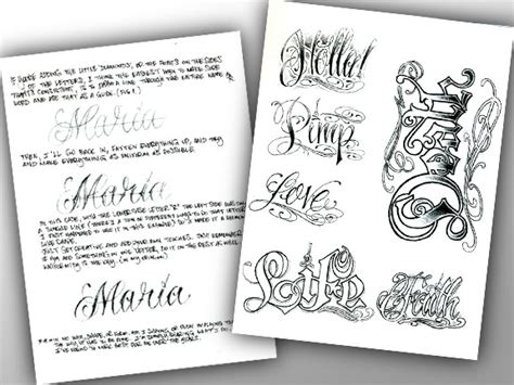 tattoo lettering books the bj betts lettering combo pack education