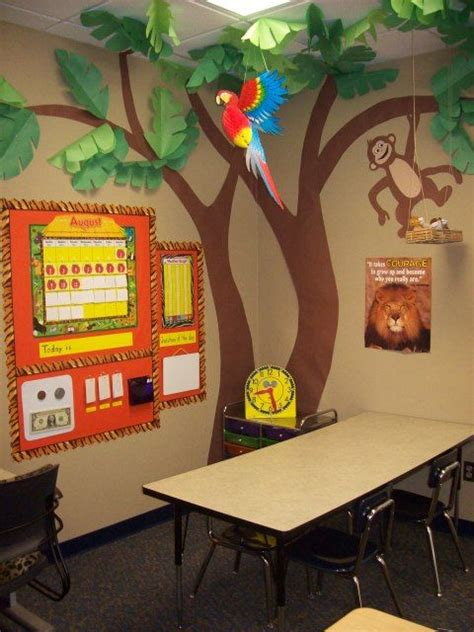 themes for reading classroom decorating education pinterest jungle