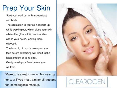 clear 7 steps to clear skin books 7 easy steps to prevent acne after exercising