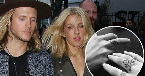 ellie goulding tattoos ellie goulding and dougie poynter get matching tattoos in