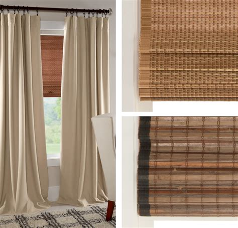 natural fiber curtains your guide to natural fiber shades home happinesshome