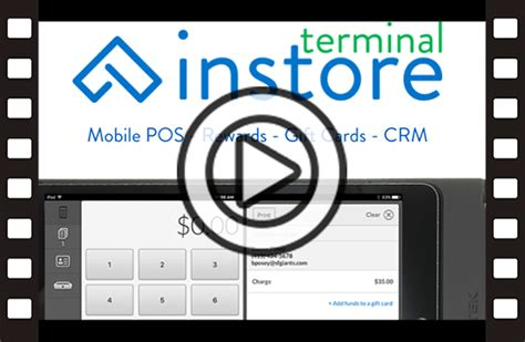 Maestro Gift Card Spend Anywhere - instore terminal features