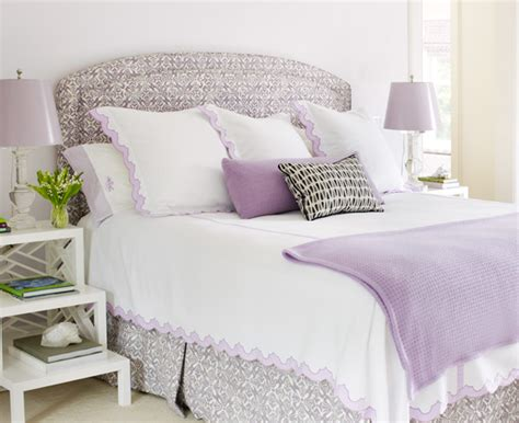 white and mauve bedrooms interior home in the htons style at home