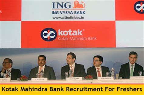Mba Recruiting Programs Banks by Kotak Mahindra Bank Recruitment 2016 2017 For Freshers