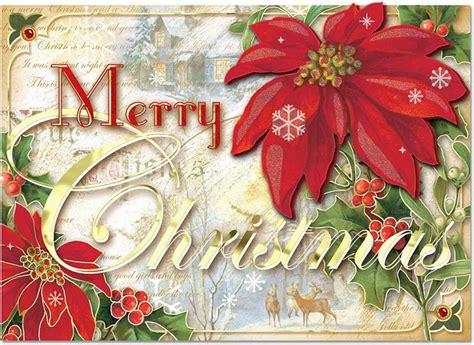 merry poinsettia boxed cards christmas punch studio fairyglencom