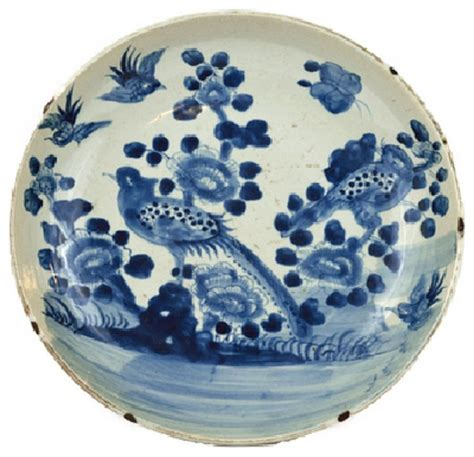 New Antique Style Porcelain Decorative Plate Vintage Blue White Willow Edwardian Ebay Vintage Style Large Blue And White Bird Motif Porcelain