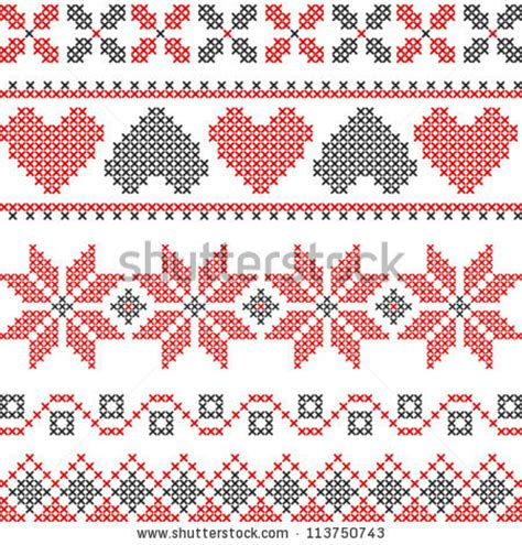 embroidery design cross stitch cross stitch stock photos images pictures shutterstock