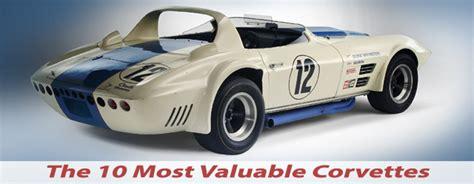 most expensive corvettes the most valuable corvettes built
