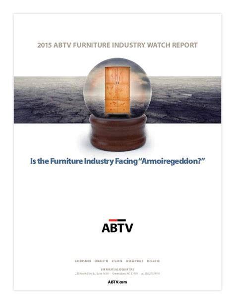 Mba Richmond Furniture by 2015 Abtv Furniture Industry Report