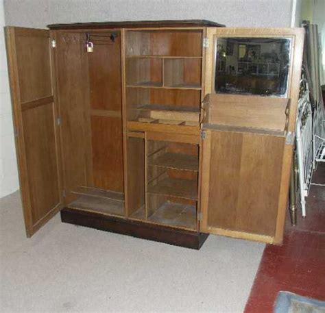 antiques atlas 2 door oak compactum wardrobe
