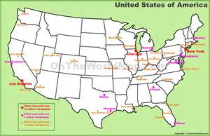 u s cities map