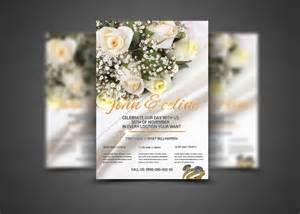 15 wedding flyer templates psd word graphic cloud