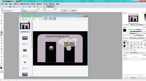 gambar ikon format pointer cara membuat ikon dari gambar menggunakan icofx maukinfo
