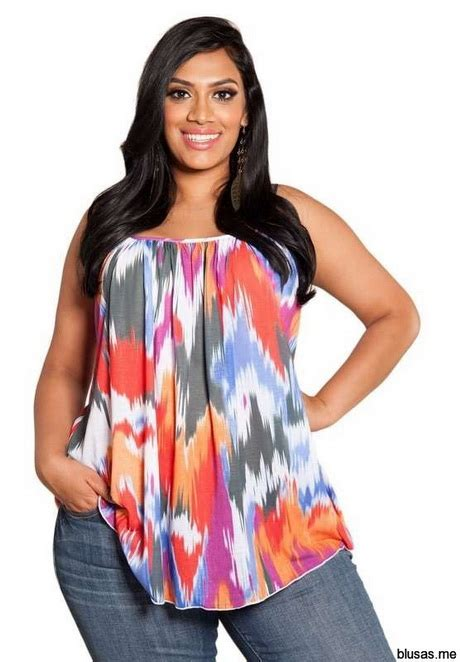 blusas sw moda para gorditas regresar a blusas estadas de moda casual elegante para