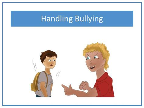 templates powerpoint bullying ppt handling bullying powerpoint presentation id 2115354