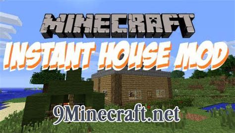 minecraft instant house mod instant house mod for minecraft 1 5