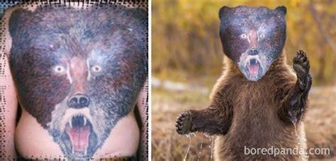 animal tattoo fail as piores tatuagens de rosto da hist 243 ria das tatuagens
