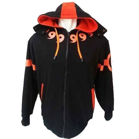 Jaket Kyubi Orange by Jaket Obito Orange Pusat Jaket Anime