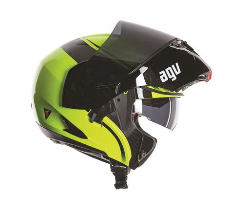 Helm Mds Flip Up agv compact course flip front motorcycle helmet agv