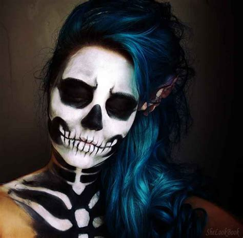 Makeup Sk Ll 41 beautiful colorful sugar skull makeup ideas