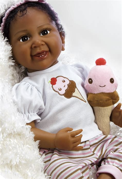 black doll pictures real american doll cherry silicone vinyl