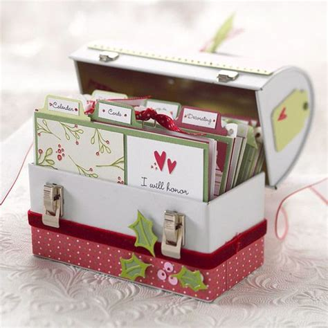 Handmade Card Box - handmade gifts handmade gifts recipe box and
